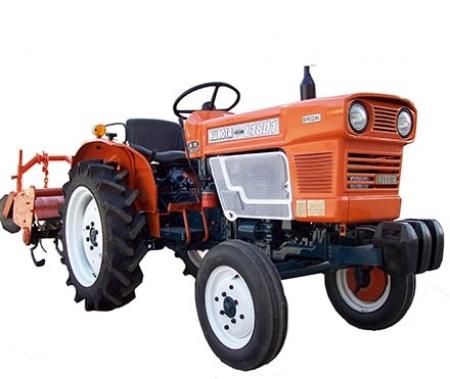 Japanese tractors