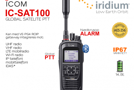 New satellite station from ICOM